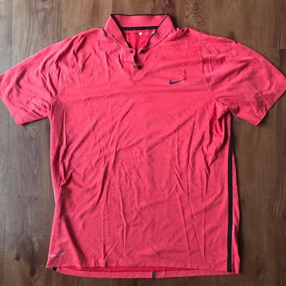 clérigo Prueba organizar  Nike Shirts | Nike Tiger Woods Collection Golf Shirt | Poshmark